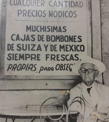 Don Vicente Rodríguez y Peláez | Dulceria y Sorbeteria Colon